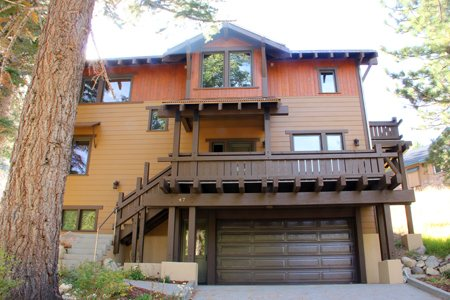 Floor Plan for Within one mile of this gorgeous vacation home you can enjoy two glacial lakes full of trophy trout, and the June Mountain ski area.