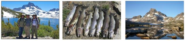 thousand island lake fishermen and trout