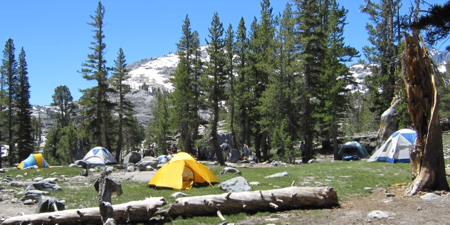 thousand island lakes base camp