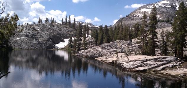 camping at thousand island lakes